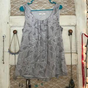 Elegant patterned blouse from LOFT